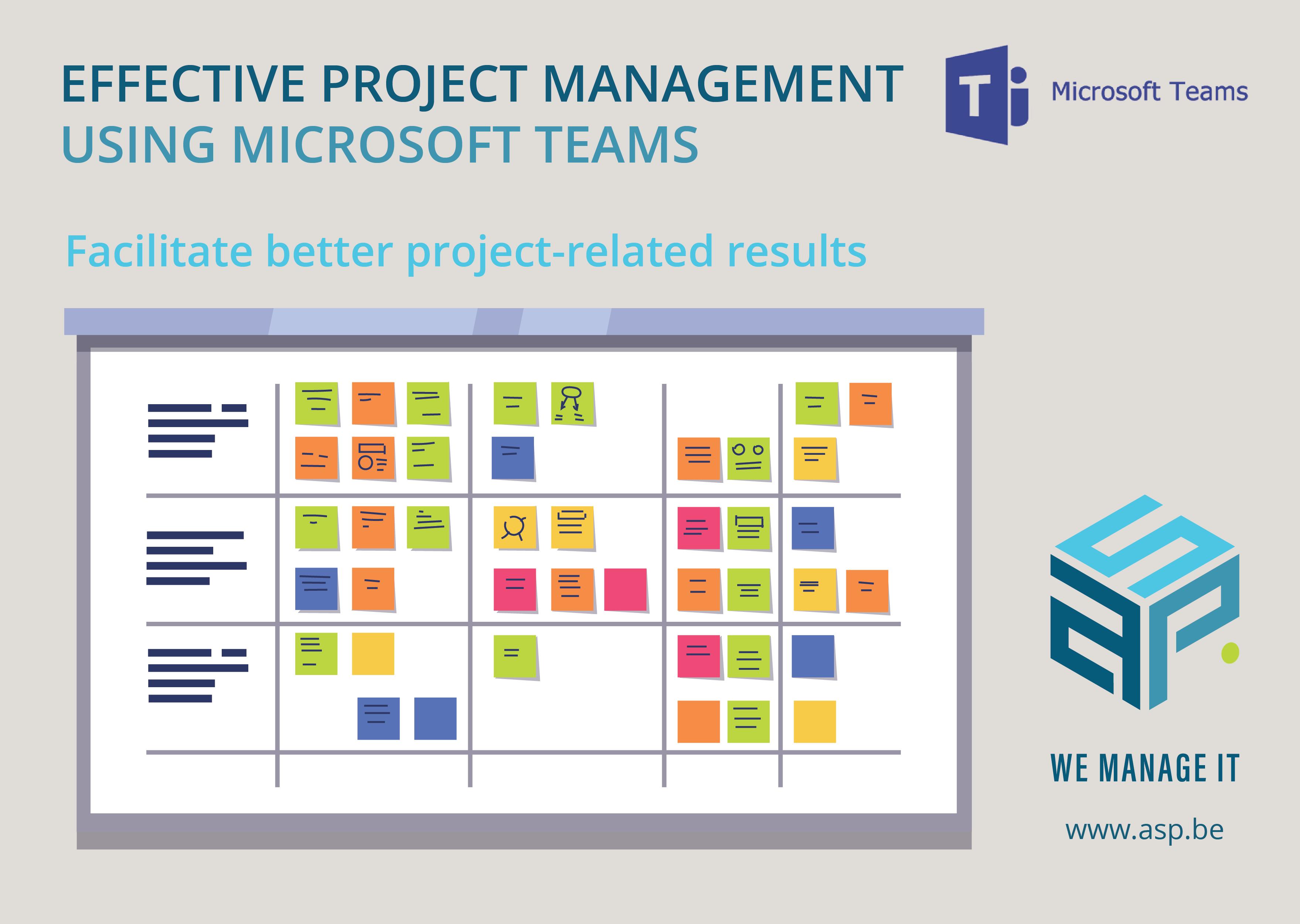 Webinar: Effective Project Management using Microsoft Teams by Piet Vermeir